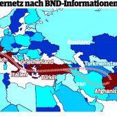 Afghanische Schlepper knüpfen EU-weites Netz