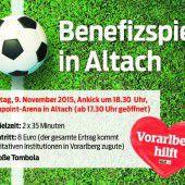 Ein Fußballspiel als Zeichen der Solidarität