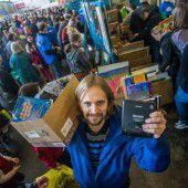 25.000 Besucher stürmten den großen Dornbirner Flohmarkt