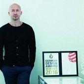 Design Award für Andreas Haselwanter