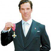 Ehrentitel für Sherlock-Star