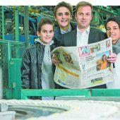 Vorarlberger Nachrichten feiern mit ihren Lesern 70-Jahr-Jubiläum