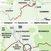 Fast vier Kilometer Maschendraht