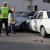 Vier Verletzte bei Kollision in Bregenz
