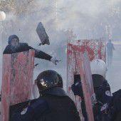 Tränengas im Parlament
