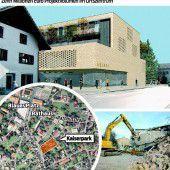 Abbrucharbeiten für Lustenauer Kaiserpark