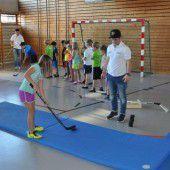 Eishockey für die Kinder in Hittisau
