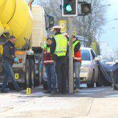 Frau bei Unfall in Dornbirn getötet