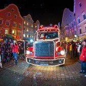 Coca-Cola-Truck zu Gast in Götzis