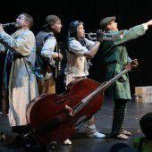 Das Vorarlberger Ensemble Die Schurken wurde in Berlin mit dem Junge Ohren-Preis ausgezeichnet