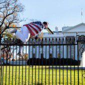 Eindringling stört Obamas Thanksgiving