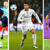 Finalisten für die FIFA-Weltfußballerwahl stehen fest
