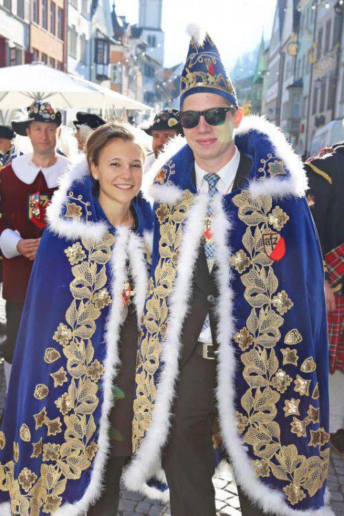 Gestatten: Das Prinzenpaar Marcel I. und Elisa I.