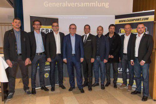 Grund zur Freude hatte der Altacher Aufsichtsrat bzw. Vorstand. Der Klub zeigte sich 2014/15 wirtschaftlich von seiner besten Seite.