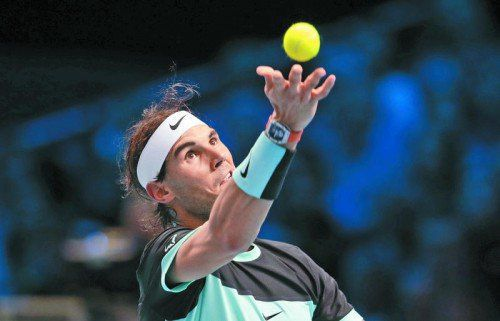 Hatte Andy Murray immer im Griff: Rafael Nadal.