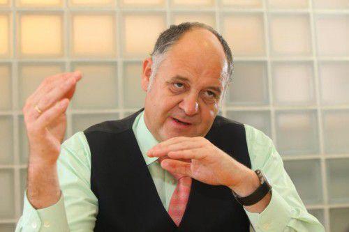 Hirschmann-Geschäftsführer Volker Buth.