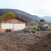 Altenstädter Kicker bauen ihr Vereinsheim aus
