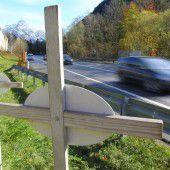 Rückgang an Todesopfern auf Vorarlbergs Straßen