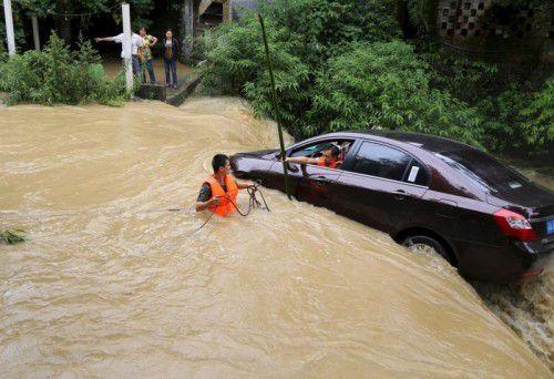 In diesem Jahr wurden zudem weltweit extreme Wetterphänomene beobachtet, besonders China hatte mit schweren Regenfällen zu kämpfen.