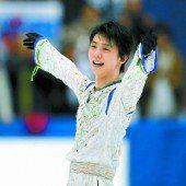 Neuer Rekord von Hanyu im Eiskunstlaufen