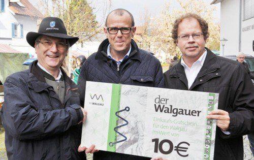 In vielen Geschäften im Walgau wird der Walgauer angenommen. Die Regionalwährung soll das Einkaufsbewusstsein steigern.