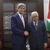 Kerry verurteilt die Attentate auf Israelis