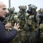 Kritik am Rotstift beim Militär