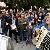 Multikulturelles Singen am Saumarkt