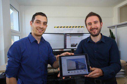 Matthias Burtscher (l.) und Alexander Troy haben Fusonic mit zwei Freunden gegründet.
