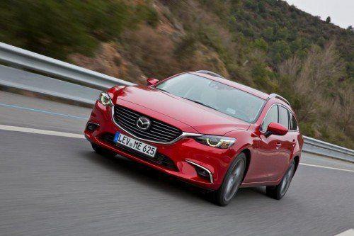 Mazda6 Sport Combi AWD: Mit dem Face- und Techniklift kam für die Diesel-Versionen eine 4x4-Option hinzu.