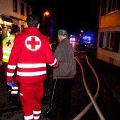 Doppelhaus bei Brand evakuiert