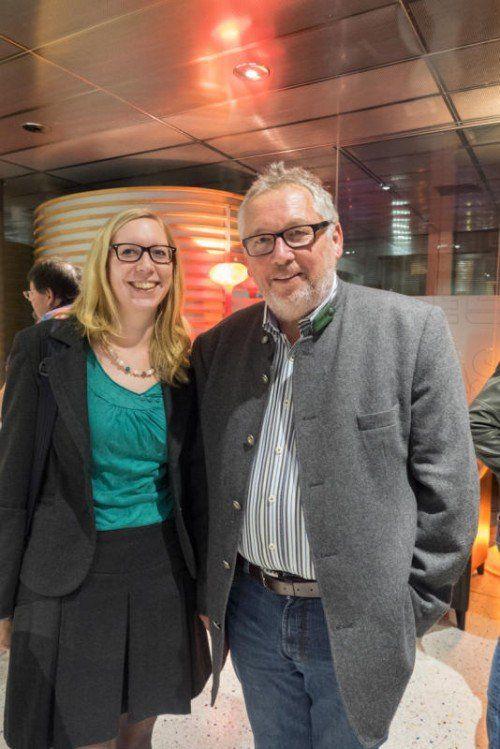 Michael Schaffenrath mit seiner Tochter Maria.