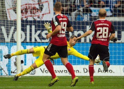 Mit seinen Paraden hielt Ramazan Özcan seine Mannschaft im Spiel, beim Gegentreffer war der ÖFB-Teamtorhüter machtlos.