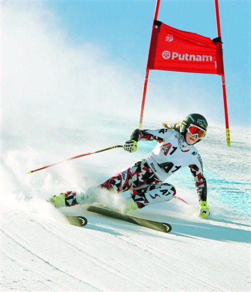 Nina Ortlieb kommt in Aspen zu ihrem ersten Einsatz bei einem Weltcup-Riesentorlauf.