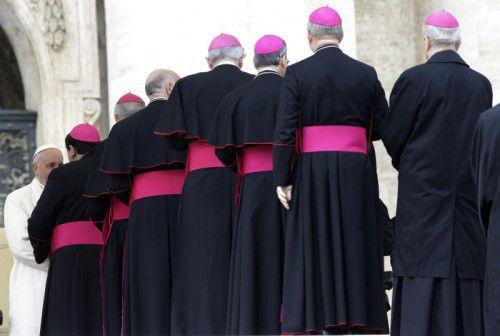 Noch ist der Vatikan männerdominiert.