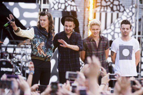 One Direction wollen sich 2016 eine Auszeit nehmen.