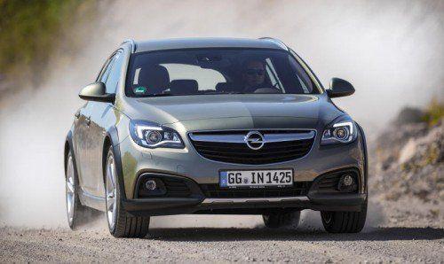 Opel Insignia Country Tourer: Höher gelegte Karosserie, ausgeklügeltes Allradantriebs-System.