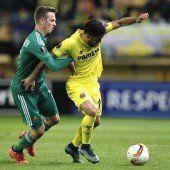 Erste Niederlage für Rapid in Europa League
