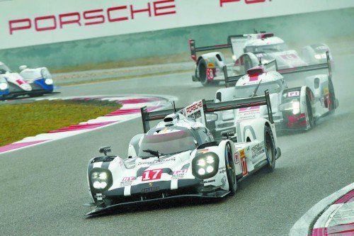 Porsche schaffte innert zwei Jahren wieder den Marken-WM-Titel in der Langstrecken-WM.