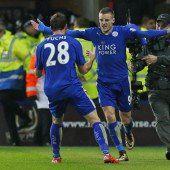 Leicester spielt stark auf