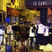 Grausame Nacht des Terrors hat Paris im Griff