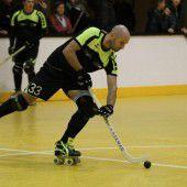 Schwere Aufgaben für die Rollhockeyspieler
