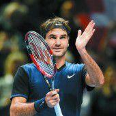 Federer steht ohne Niederlage im Halbfinale