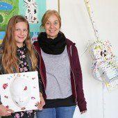 Junge Künstler stellen im LKH Feldkirch aus
