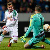 Historisch: Rapid rockt weiter die Europa League