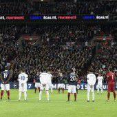 Der Fußball musste sich dem Terror beugen