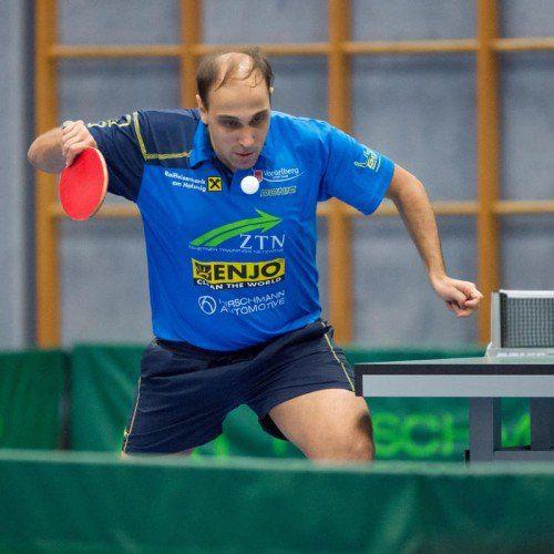 Tarek Al-Samhoury feierte seinen 38. Geburtstag mit Siegen.
