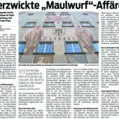 Amtsgeheimnis bleibt in Montfortstadt verletzt