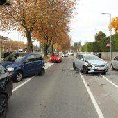 Unfall in Lochau fordert einen Verletzten