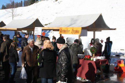 Wegen des Adventmarkts ruht der Verkehr am Samstag in Lingenau.